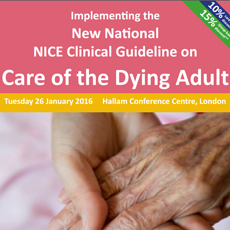 Implementing the NICE Clinical Guideline on Care of the Dying Adult